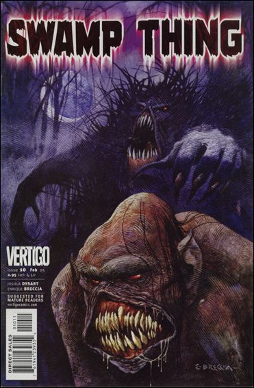 Swamp Thing (2004) 10-A by Vertigo