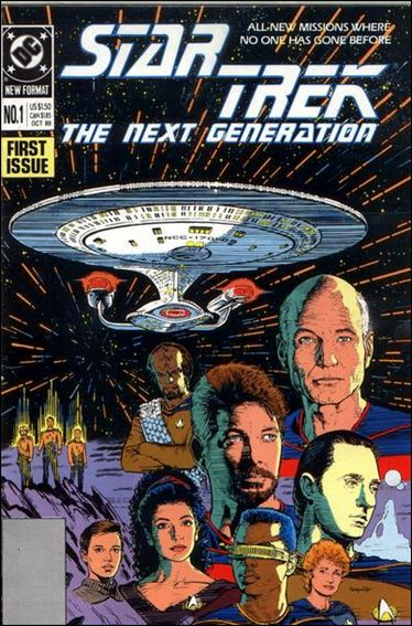 Star Trek: The Next Generation (1989) 1-A by DC