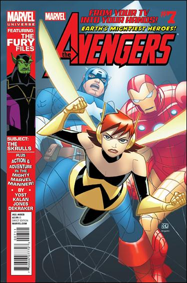 Avengers Earth's Mightiest Heroes (2012) 7-A by Marvel