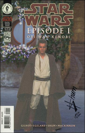 Star Wars: Episode I Obi-Wan Kenobi nn-F by Dark Horse