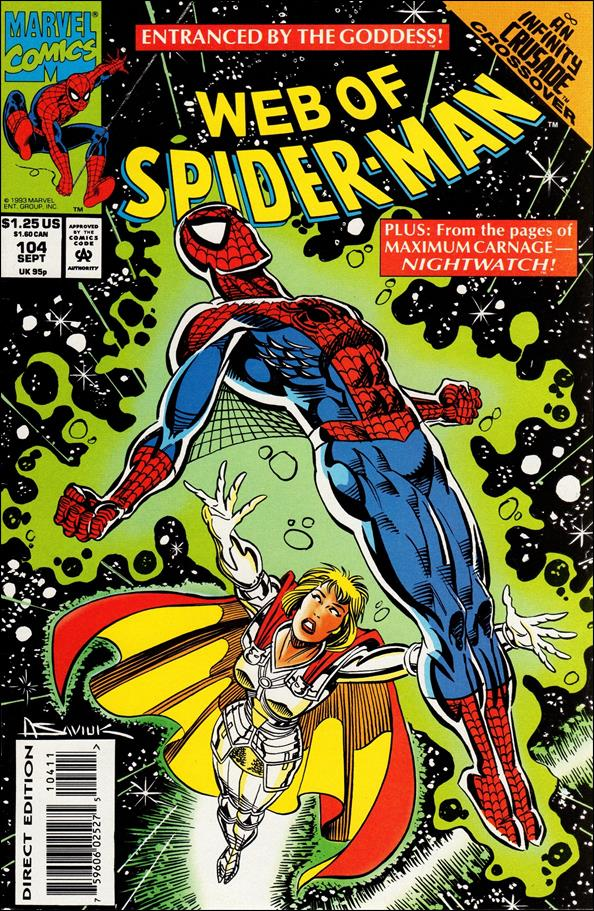 Web of Spider-Man (1985) 104-A by Marvel
