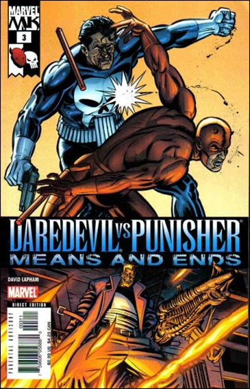 Daredevil vs Punisher: Means and Ends 3-A by Marvel