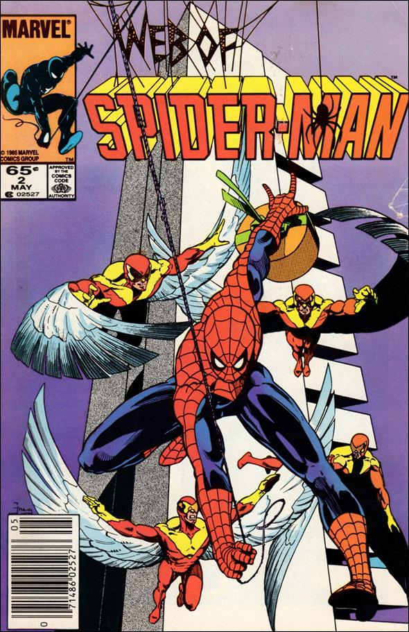 Web of Spider-Man (1985) 2-A by Marvel