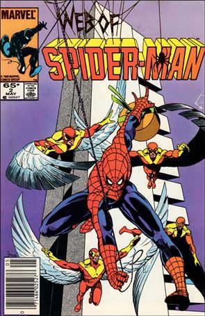 Web of Spider-Man (1985) 2-A
