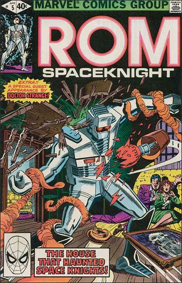 ROM (1979) 5-A by Marvel