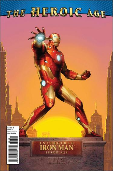 Invincible Iron Man (2008) 26-B by Marvel