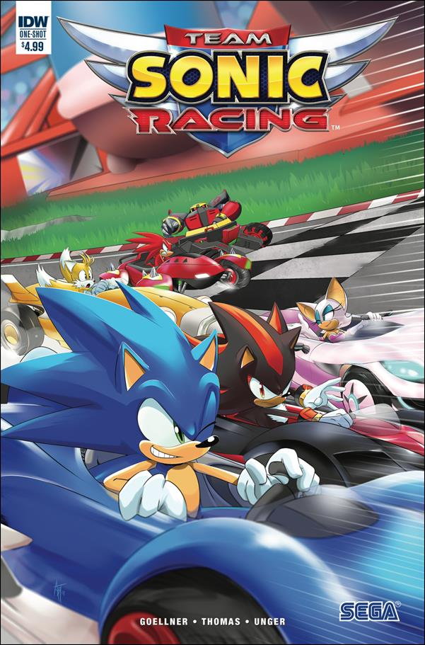Team Sonic Racing One-Shot-A by IDW