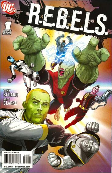 R.E.B.E.L.S. (2009) 1-A by DC