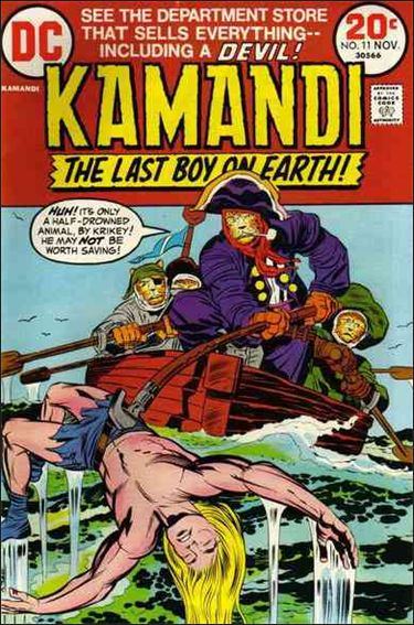Kamandi, the Last Boy on Earth 11-A by DC
