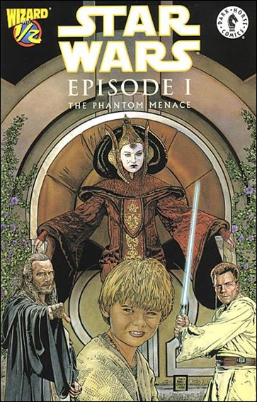 Star Wars: Episode I The Phantom Menace 1/2-A by Dark Horse