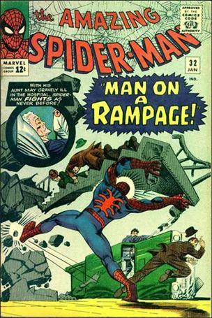 Amazing Spider-Man (1963) 32-A