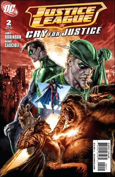 Justice League: Cry for Justice 2-A by DC