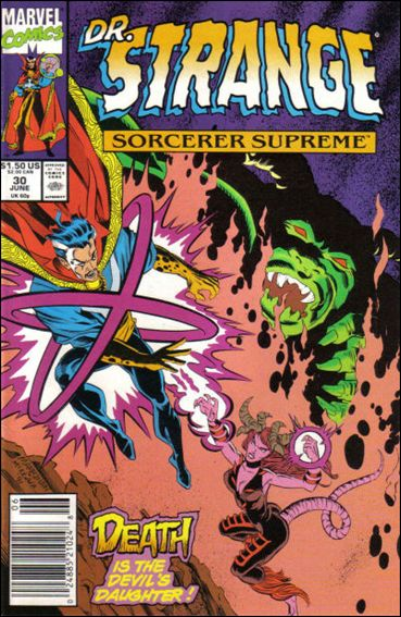 Doctor Strange, Sorcerer Supreme 30-A by Marvel
