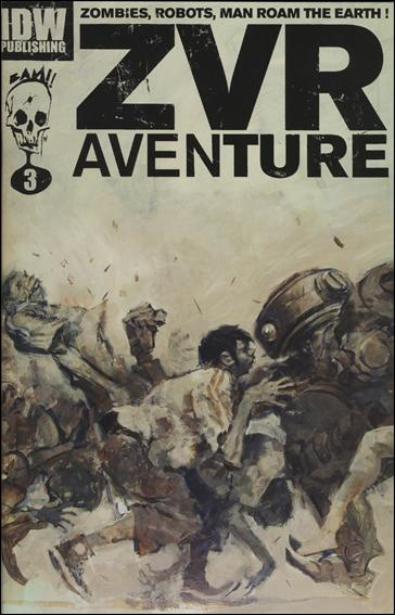 Zombies vs Robots Aventure 3-B by IDW