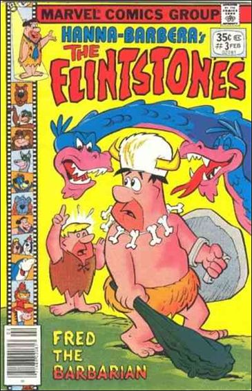 Flintstones (1977) 3-A by Marvel