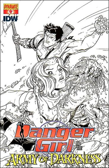 Danger Girl and the Army of Darkness 4-C by Dynamite Entertainment