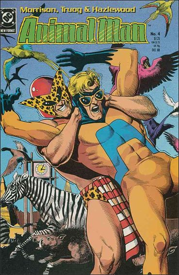 Animal Man (1988) 4-A by Vertigo