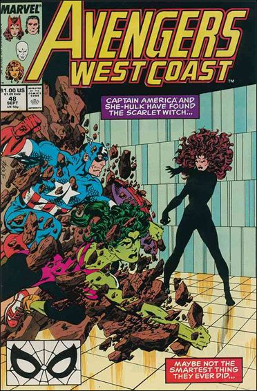 Avengers West Coast 48-A by Marvel