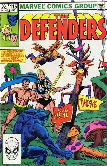 Defenders (1972) 115-A by Marvel