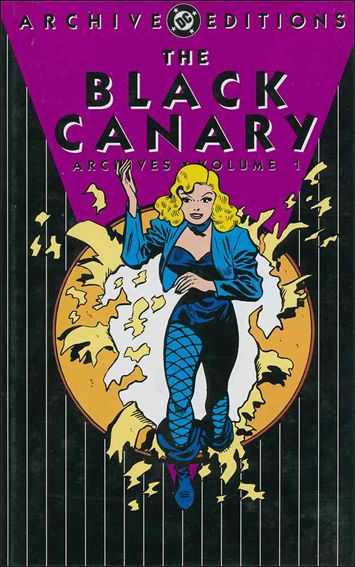 Black Canary Archives 1-A by DC