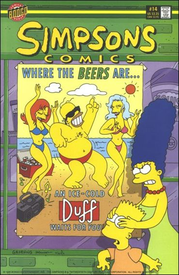 Simpsons Comics 14-A by Bongo