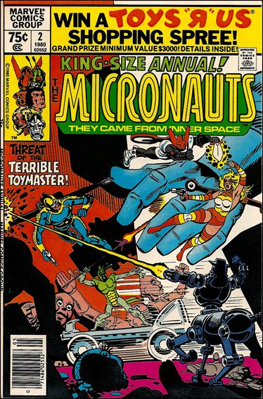 Micronauts Annual 2-A by Marvel