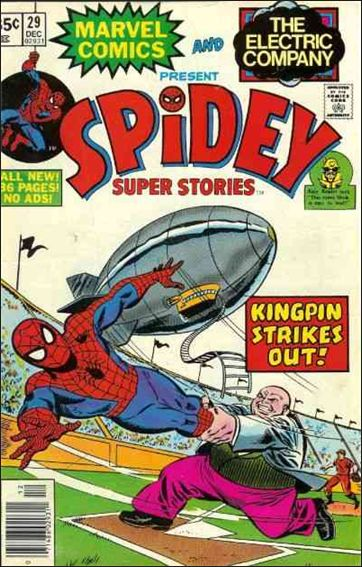 Spidey Super Stories 29-A by Marvel