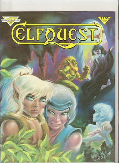 ElfQuest (1978) 21-A by Warp Graphics