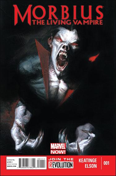 Morbius: The Living Vampire (2013) 1-A by Marvel