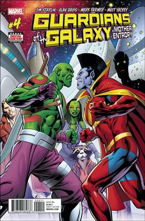 Guardians of the Galaxy: Mother Entropy 4-A