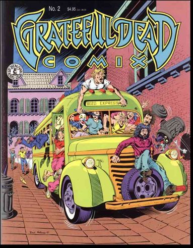 Grateful Dead Comix (1991) 2-A by Kitchen Sink