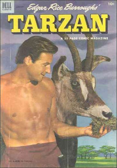 Tarzan (1948) 40-A by Dell