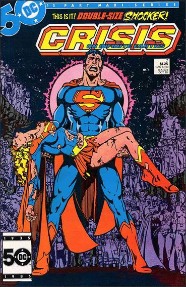 Crisis on Infinite Earths 7-A by DC