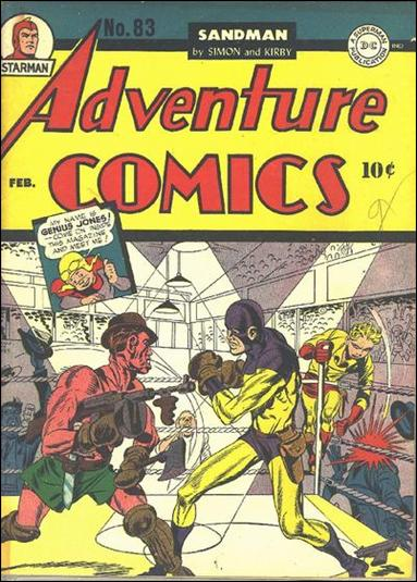 Adventure Comics (1938) 83-A by DC