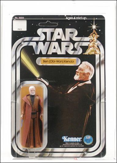 "Star Wars 3 3/4"" Basic Action Figures (Vintage) Ben (Obi-Wan) Kenobi (SW 12 Back White Hair) by Kenner"