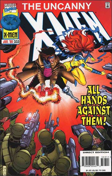 Uncanny X-Men (1981) 333-A by Marvel