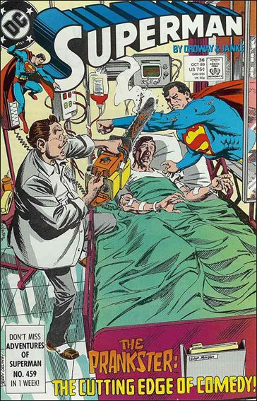 Superman (1987) 36-A by DC