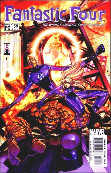 Fantastic Four (1998) 59-A by Marvel