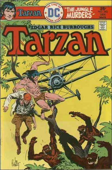 Tarzan (1972) 245-A by DC