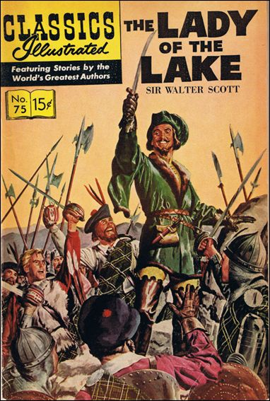 Classic Comics/Classics Illustrated 75-D by Gilberton