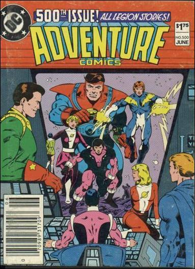 Adventure Comics (1938) 500-A by DC