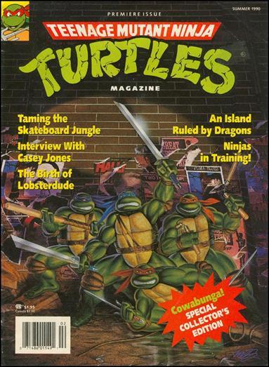 Teenage Mutant Ninja Turtles Magazine 1-A by Welsh Publishing Group