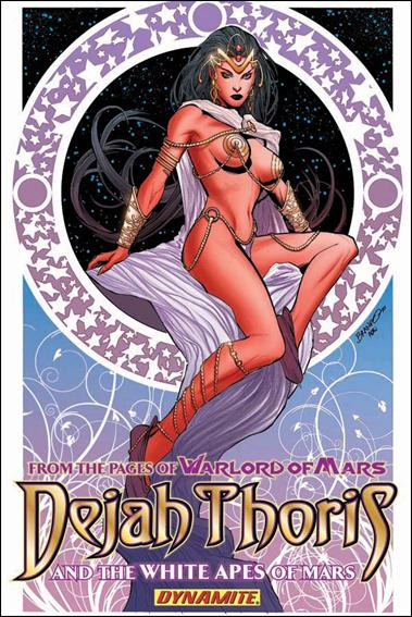 Dejah Thoris and the White Apes of Mars nn-A by Dynamite Entertainment