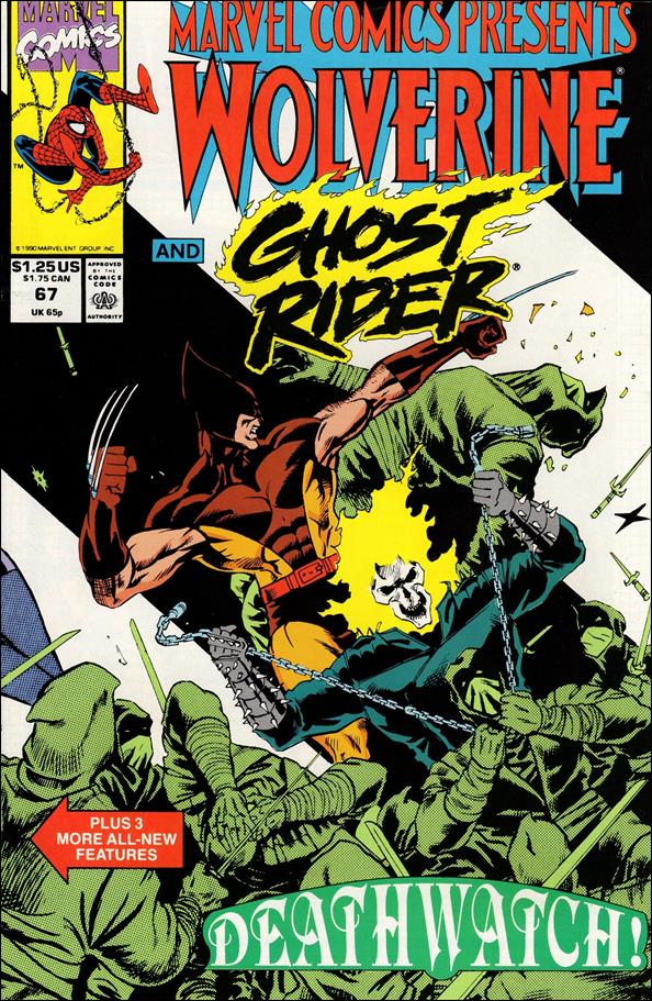 Marvel Comics Presents (1988) 67-A by Marvel