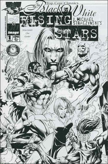 Top Cow Classics in Black and White: Rising Stars 1-A by Top Cow