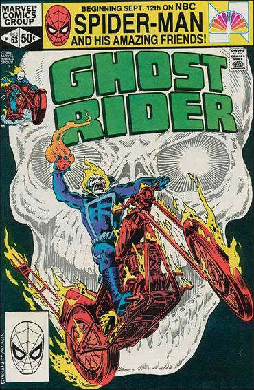 Ghost Rider (1973) 63-A by Marvel