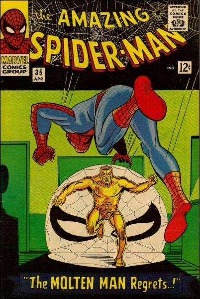 Amazing Spider-Man (1963) 35-A by Marvel