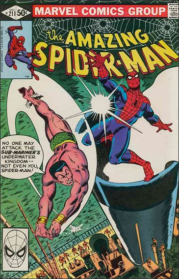 Amazing Spider-Man (1963) 211-A by Marvel