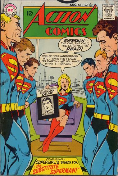 Action Comics (1938) 366-A by DC