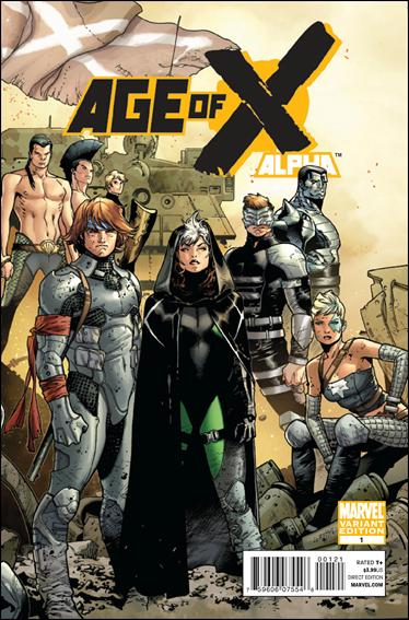 Age of X Alpha 1-B by Marvel